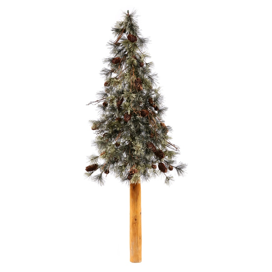 Shop vickerman ft in slim artificial christmas tree at