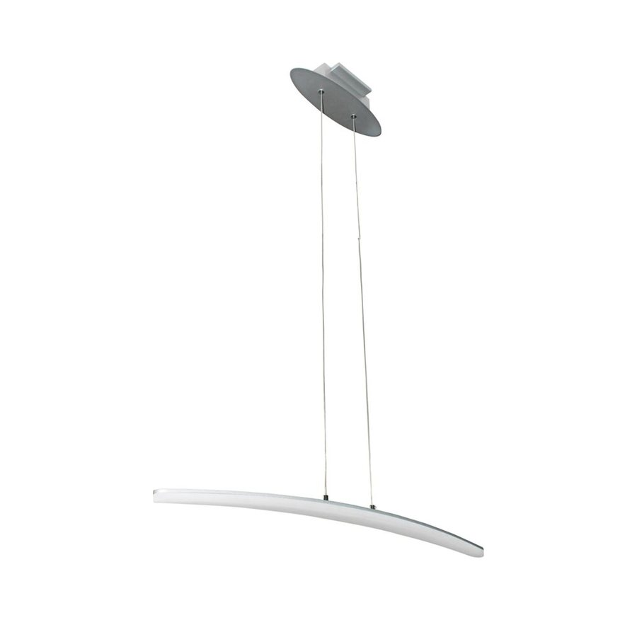 Vonn Lighting Haeidi 2.56-in W 1-Light Satin Nickel Kitchen Island Light ENERGY STAR