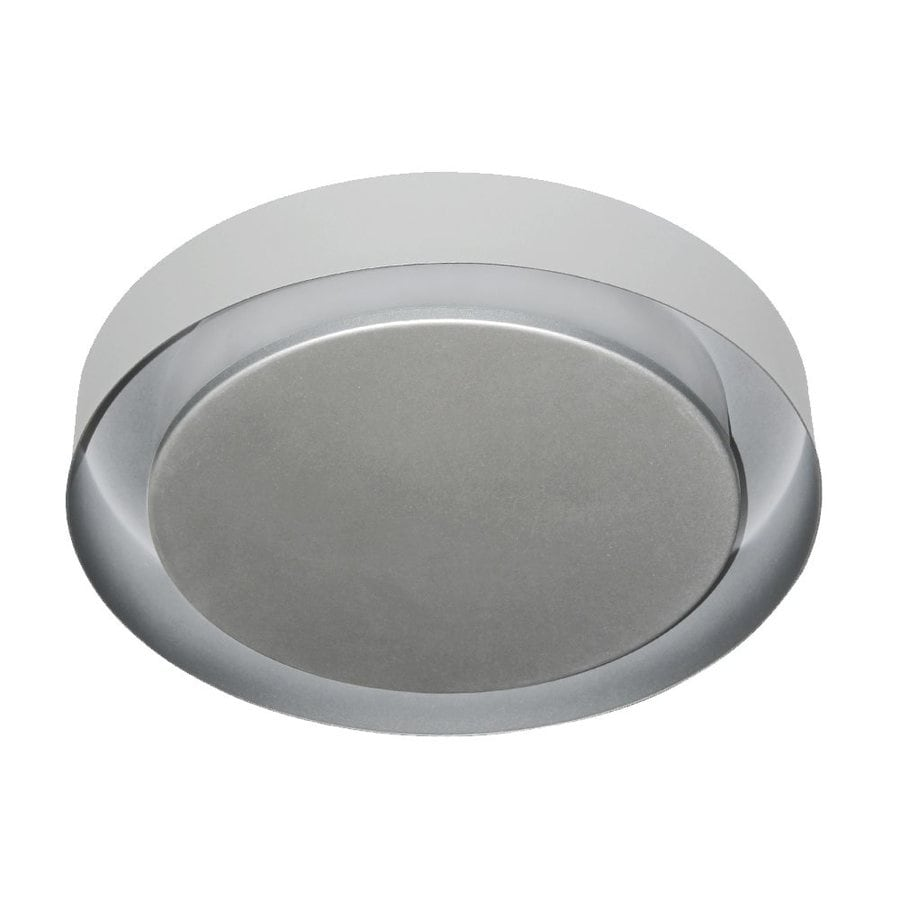 Vonn Lighting Talitha 16.125-in W Satin Nickel LED Flush Mount Light