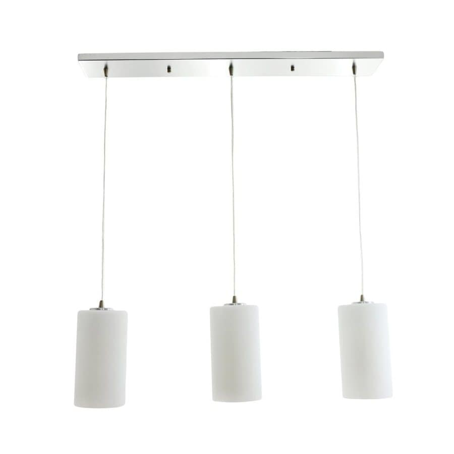 Vonn Lighting Subra 4.75-in White Multi-Light Cylinder Pendant