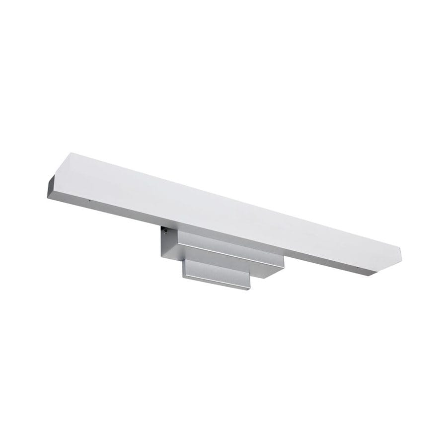 Vonn Lighting Procyon 1-Light 4.81-in Satin Nickel Rectangle LED Vanity Light Bar