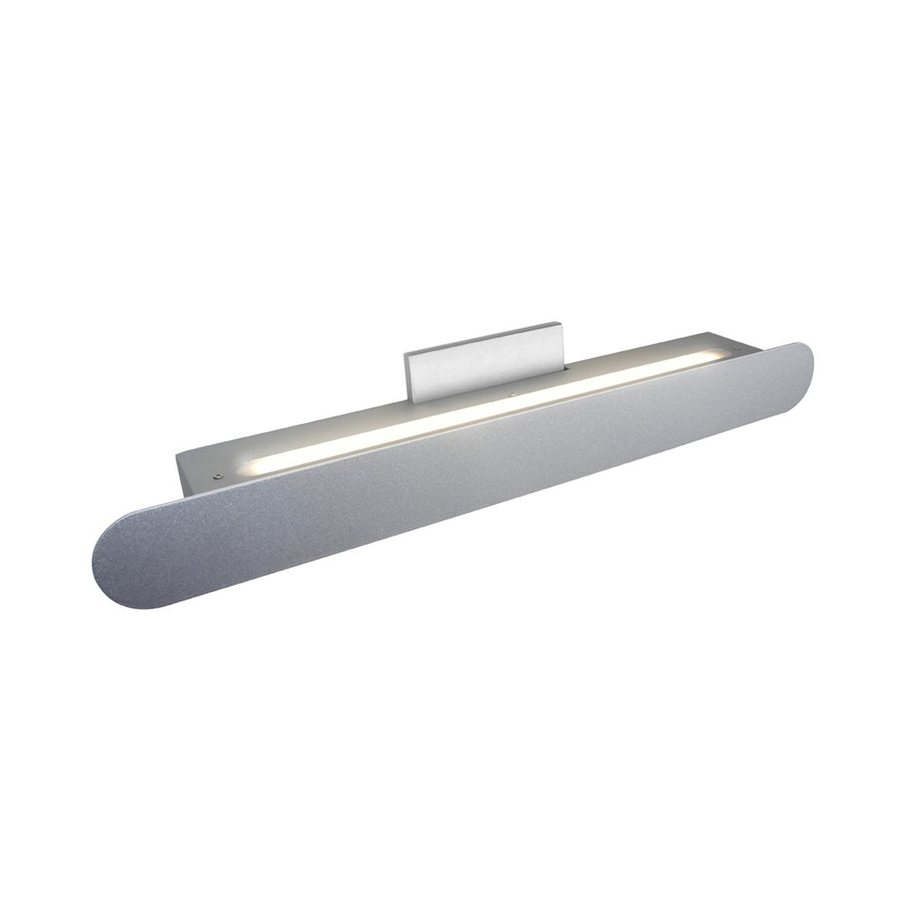 Vanity Light Bar Battery : Shop Vonn Lighting Scheddi 1-Light 4.875-in Satin Nickel Rectangle LED Vanity Light Bar at Lowes.com