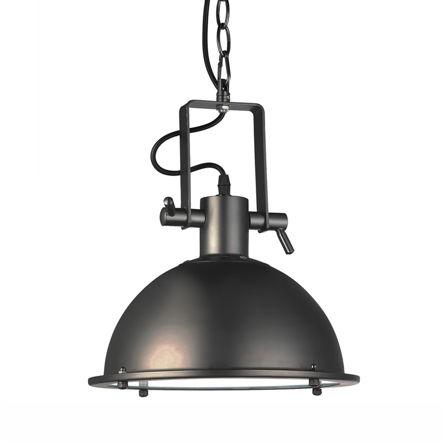 Vonn Lighting Dorado 11.13-in Architectural Bronze Industrial Dome LED Pendant