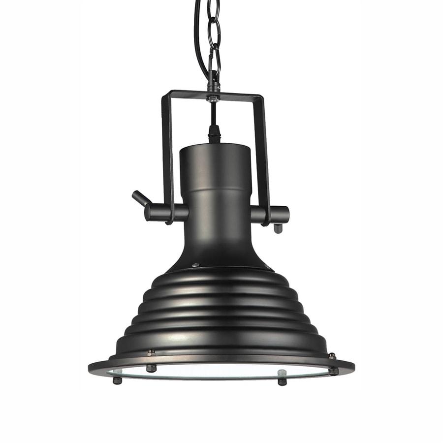 Industrial Bell Pendant Light: Vonn Lighting Dorado 11.19-in Architectural Bronze
