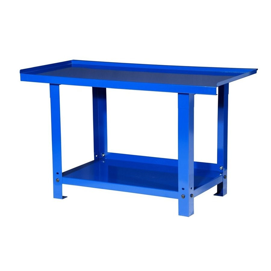 Shop International Tool Storage 57 In W X H Steel Work Bench At