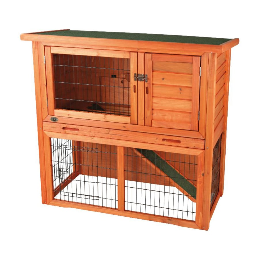 Trixie Pet Products Natura Natural Wood Rabbit Hutch