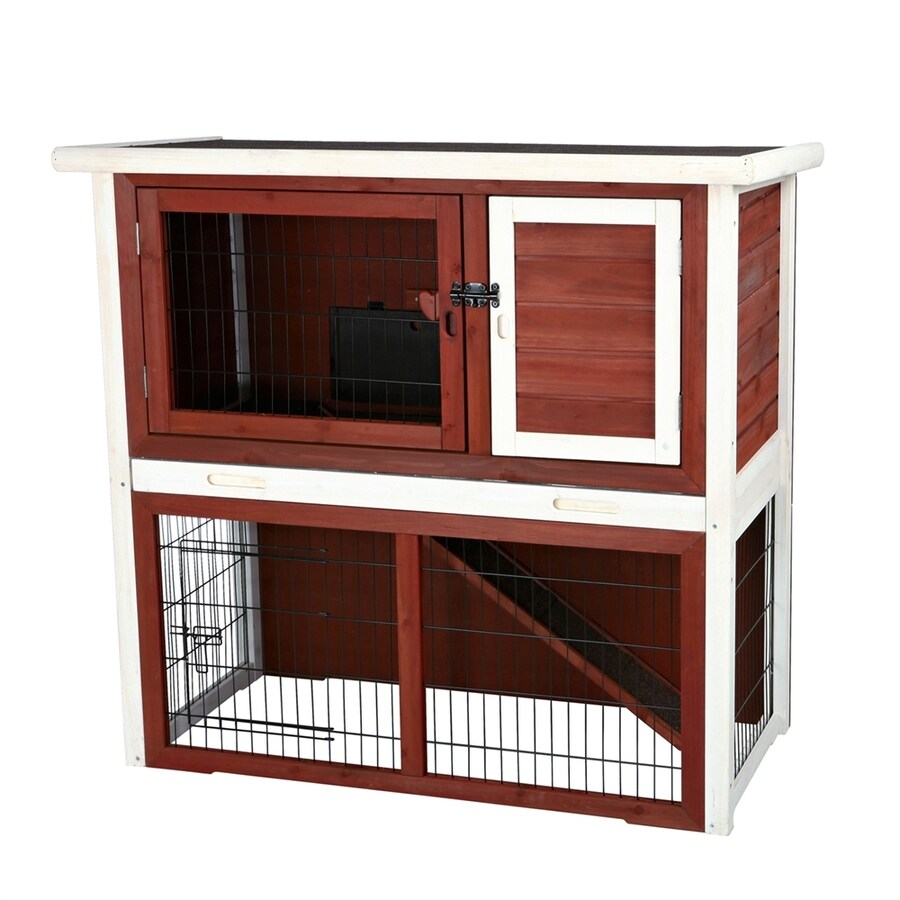 two mix trixie shop wood bunny rakuten smithbuilt hutch product coop pet story rabbit cage wholesale