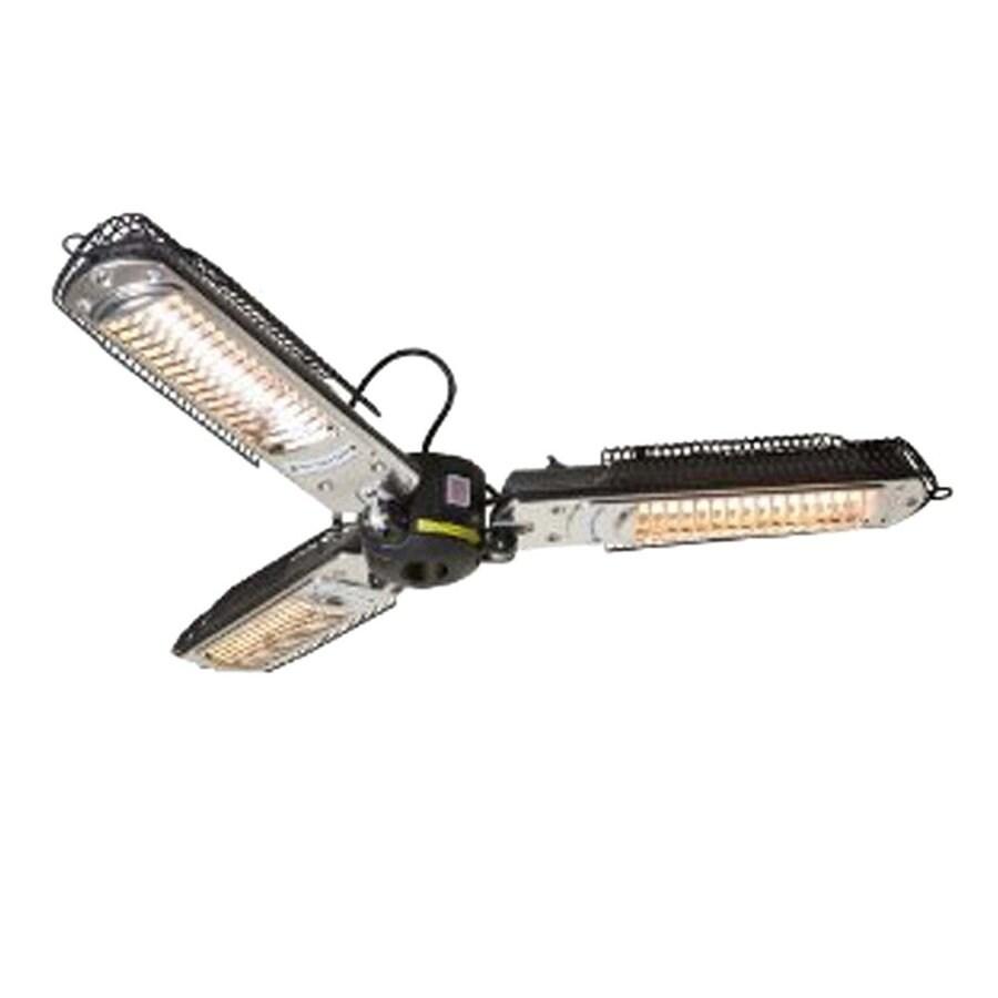 AZ  Patio 5,118-BTU 120-Volt Black Aluminum Electric Patio Heater