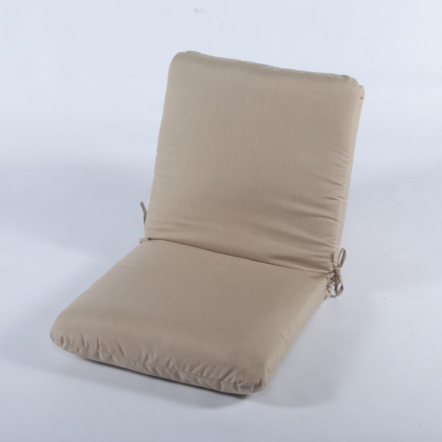 Casual Cushion Spectrum Sand Solid Cushion For Club Chairs