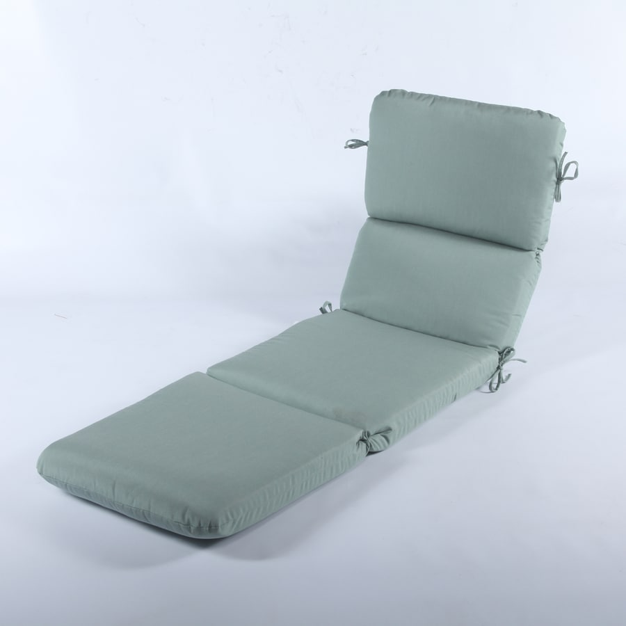 Casual Cushion Canvas Spa Solid Standard Patio Chair Cushion for Chaise Lounge