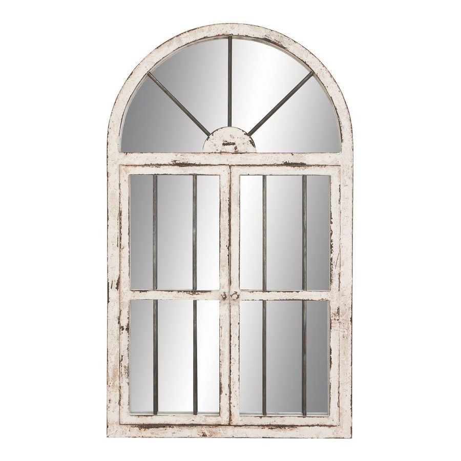 Aspire Home Accents 42 In L X 25 In W Distressed White