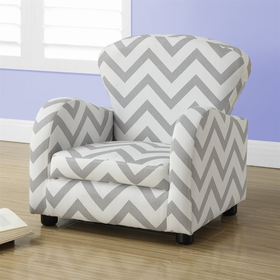 Monarch Specialties Juvenile 20-in Upholstered Kids Chair