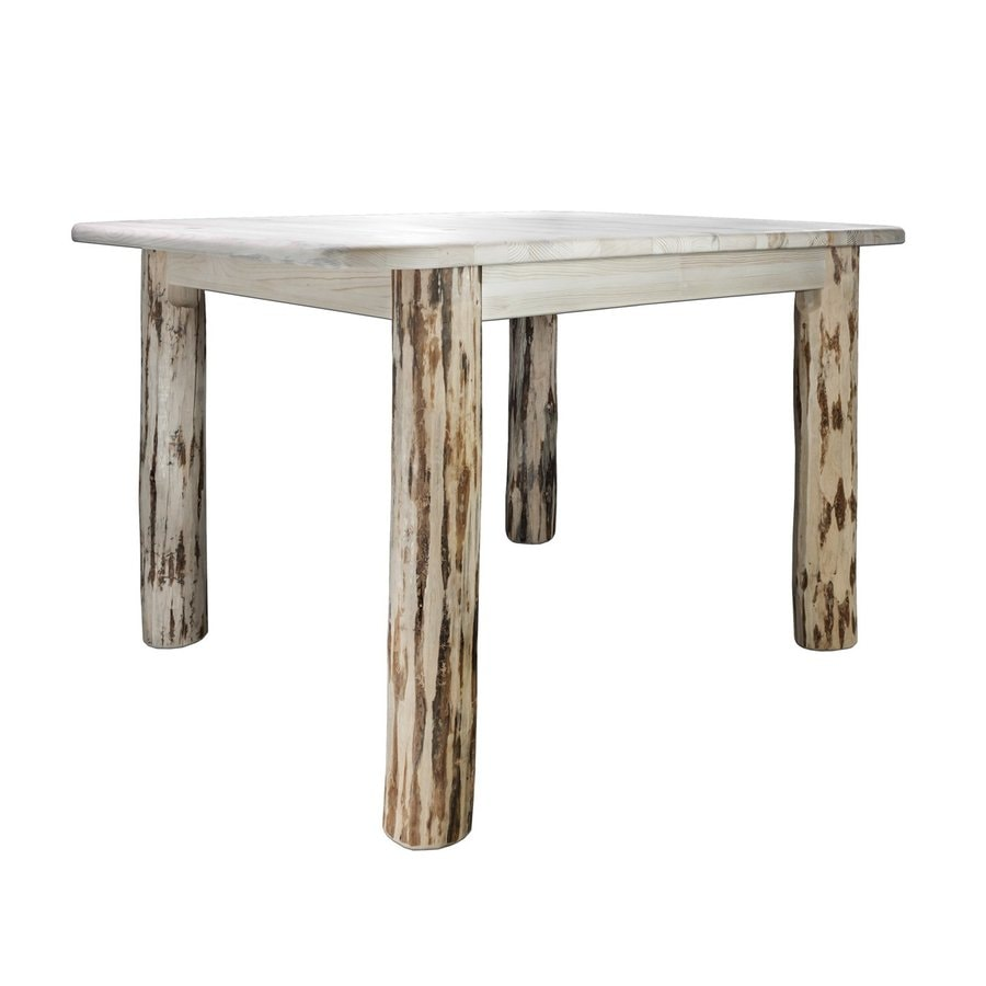 Montana Woodworks Montana Natural Rectangular Dining Table