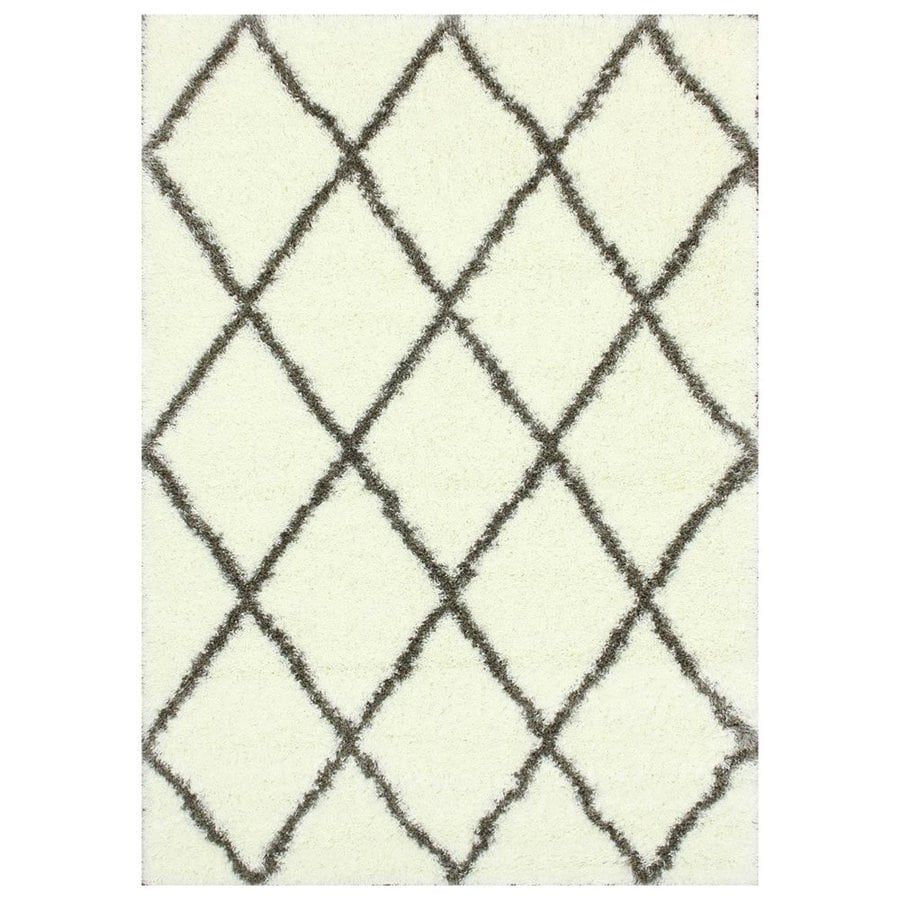 nuLOOM Brown Rectangular Indoor Machine-Made Area Rug (Common: 6 x 10; Actual: 6.58-ft W x 9-ft L)