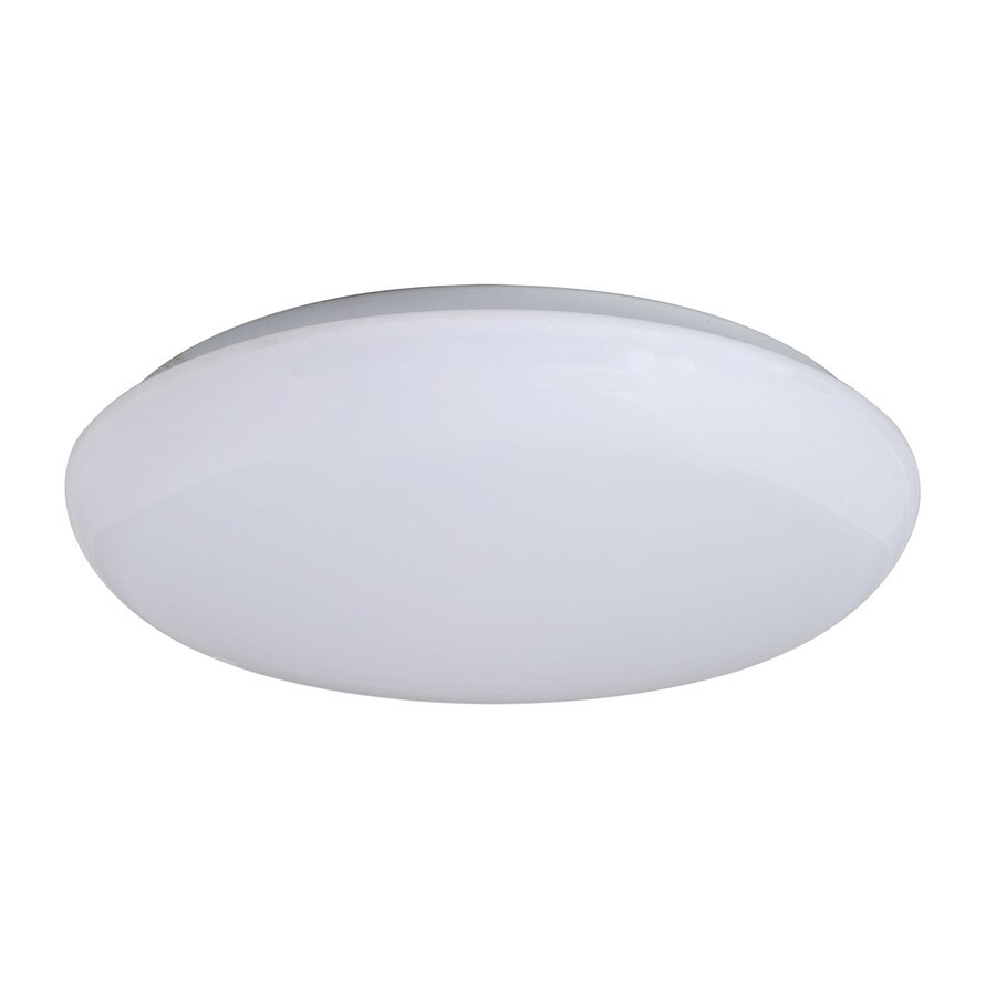 Amax Lighting Mushroom 11-in W White LED Flush Mount Light