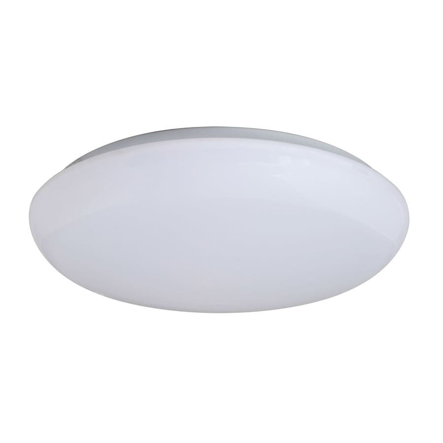 Amax Lighting Mushroom 14-in W White LED Flush Mount Light
