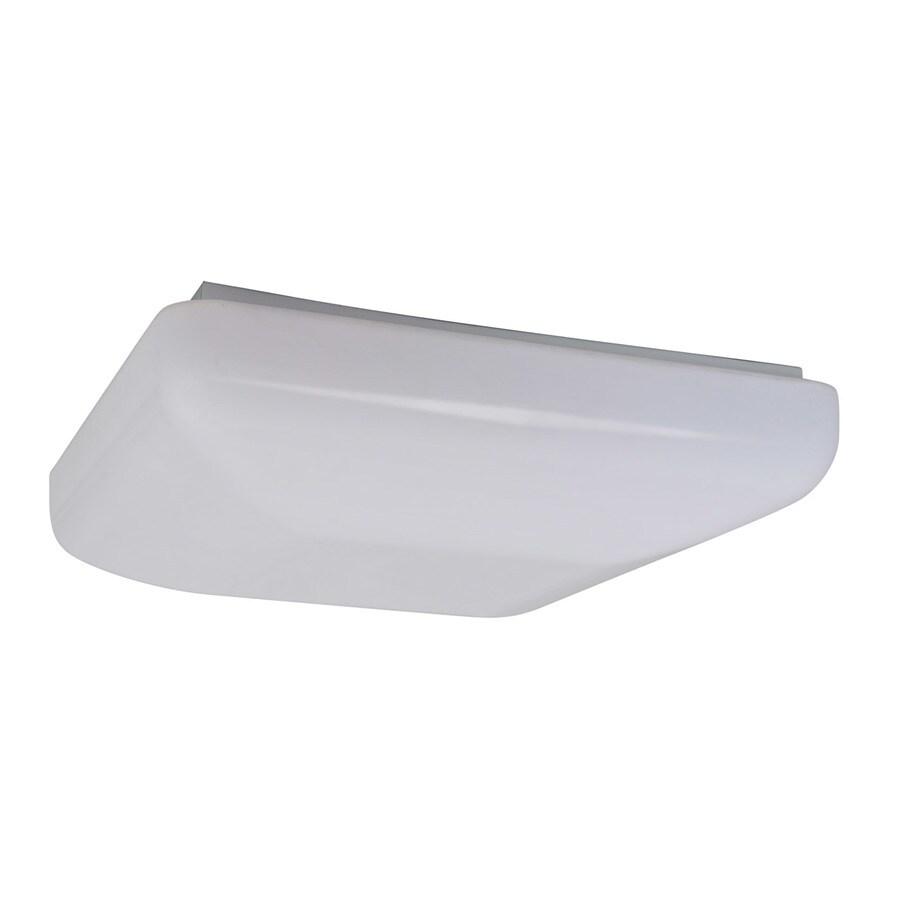 Amax Lighting 19.5-in W White LED Flush Mount Light