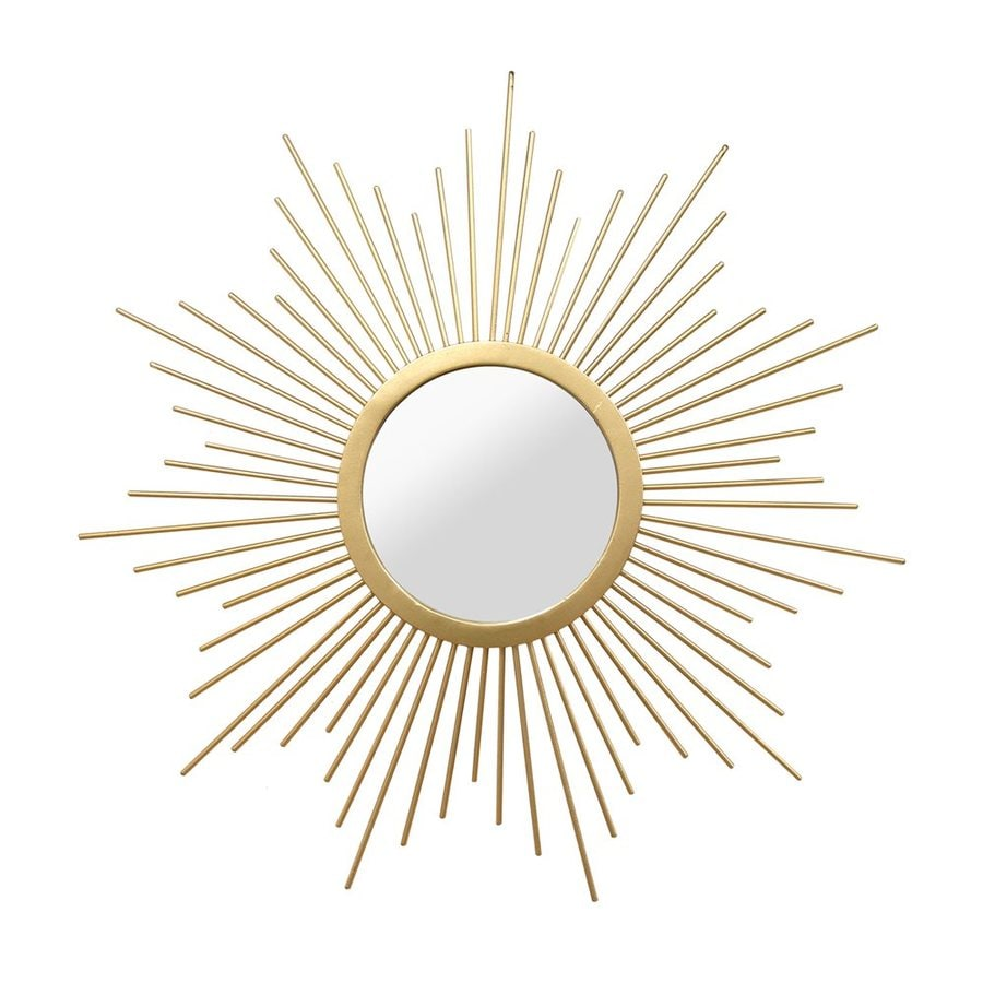 Gilded Round Wall Decor : Stratton home decor bella gold polished round wall