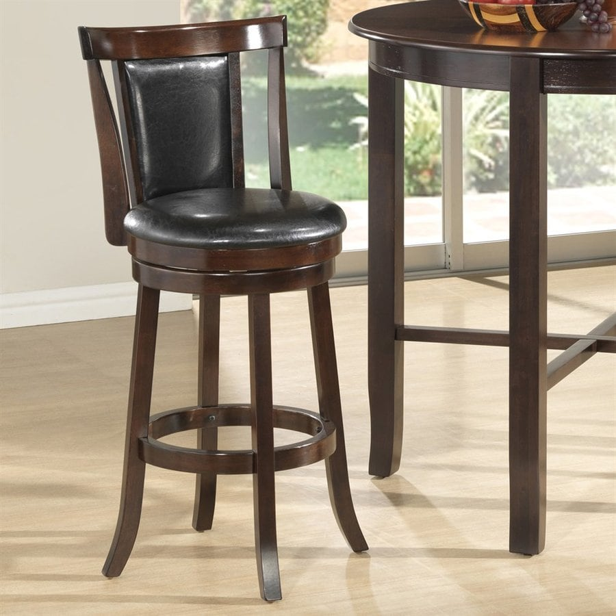 Monarch Specialties Cappuccino Tall Stool