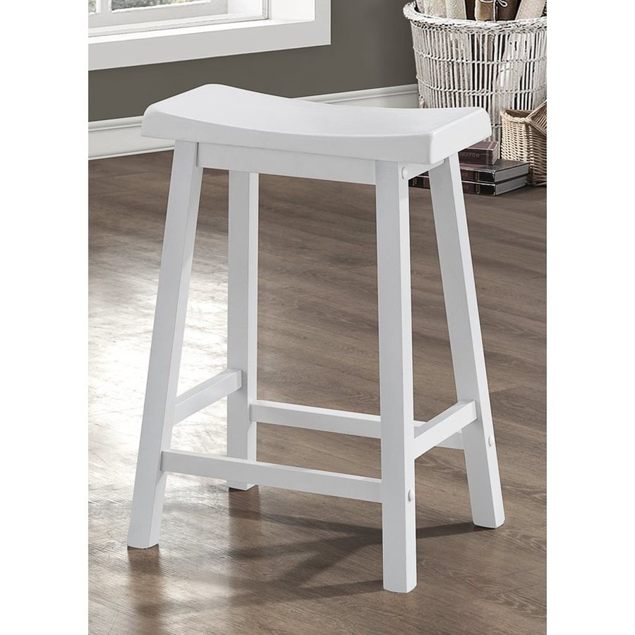 Monarch Specialties White Counter Stool