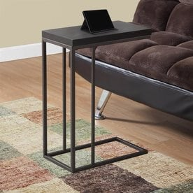 Gentil Monarch Specialties Cappuccino Composite Modern End Table