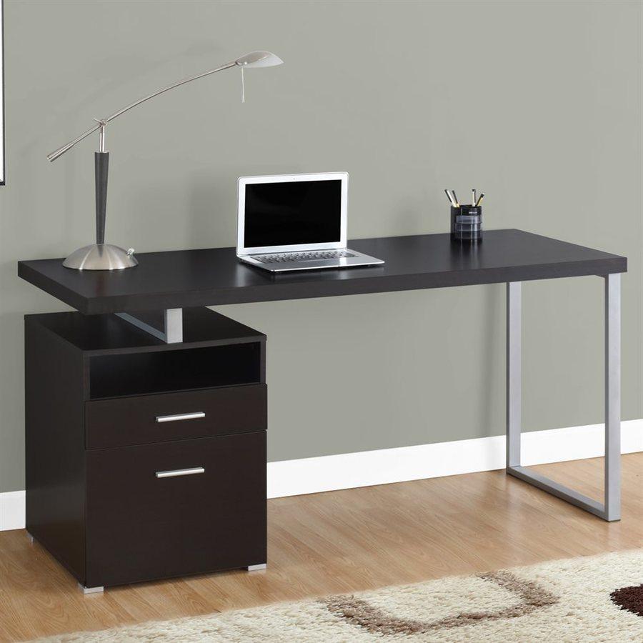 Shop Monarch Specialties Contemporary Computer Desk At Lowescom - Contemporary computer desk