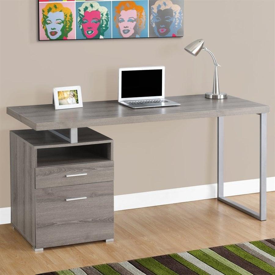 Monarch Specialties Dark Taupe Computer Desk