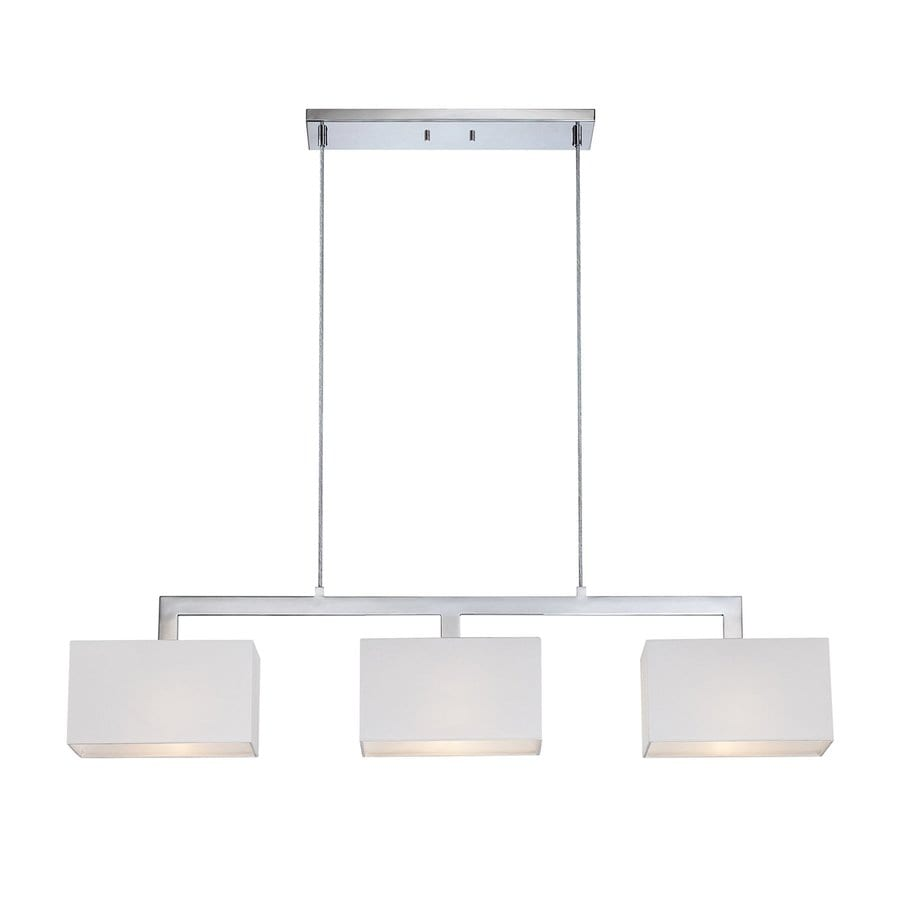 Quoizel Remi 5.5-in W 3-Light Polished Chrome Kitchen Island Light