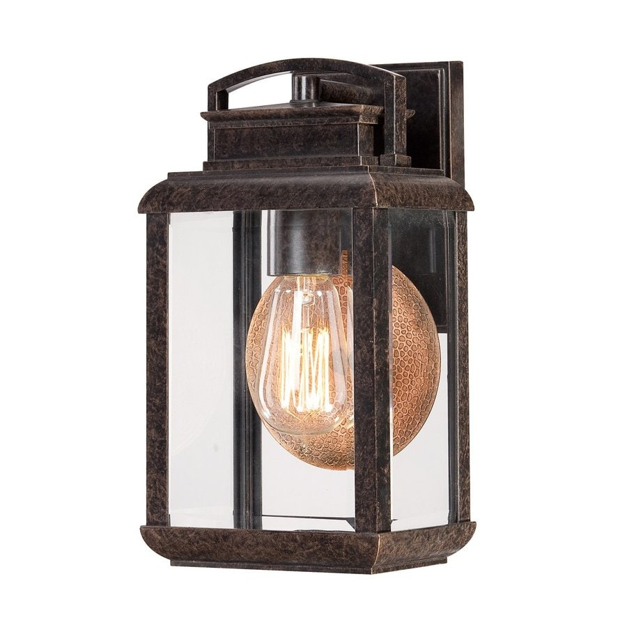 Quoizel Byron 11.75-in H Imperial Bronze Medium Base (E26) Outdoor Wall Light
