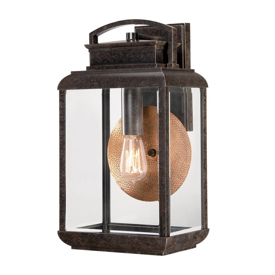 Quoizel Byron 18-in H Imperial Bronze Medium Base (E26) Outdoor Wall Light