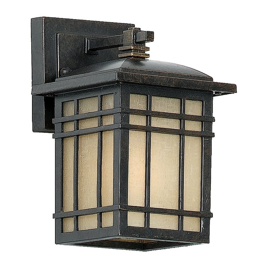 Shop Quoizel Hillcrest H Imperial Bronze Outdoor Wall Light At