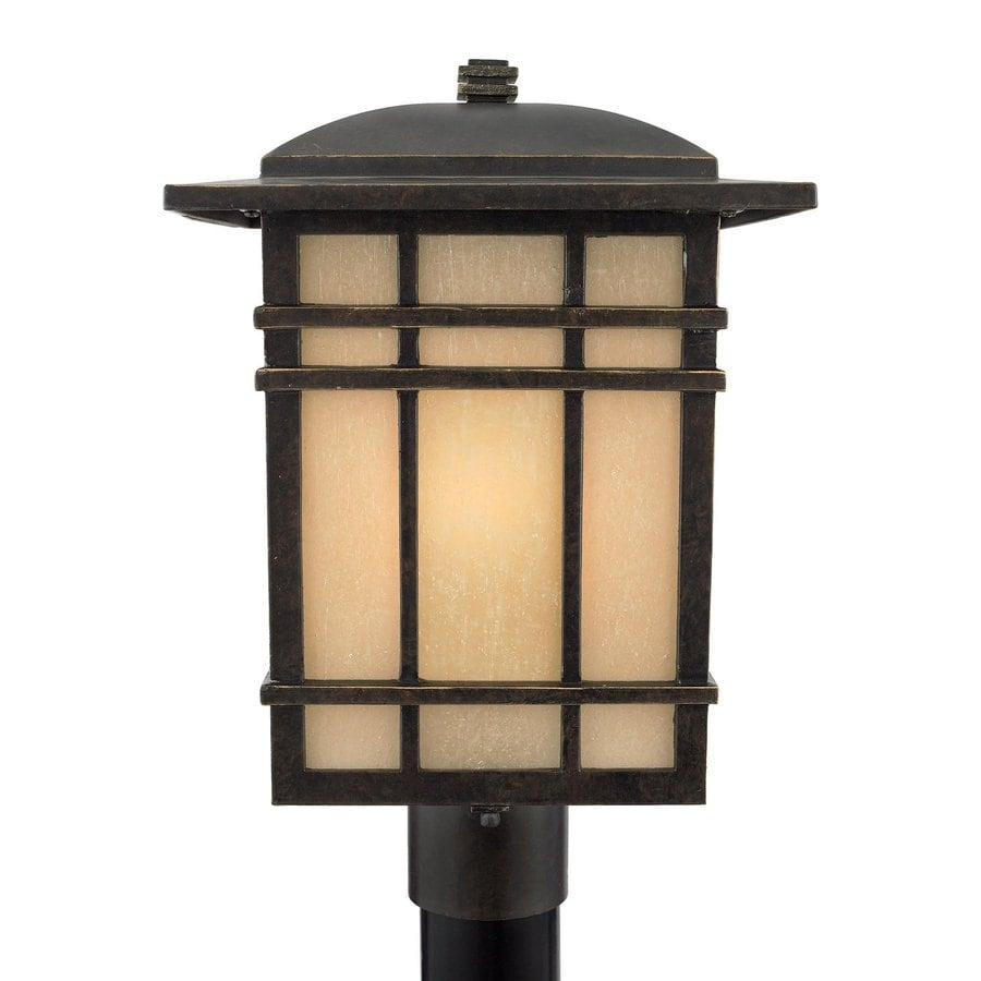 Quoizel Hillcrest 17-in H Imperial Bronze Post Light