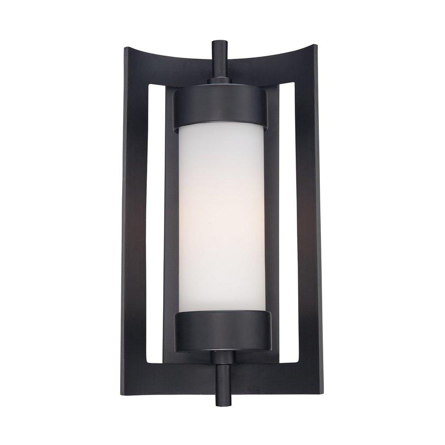 Quoizel Milan 16.5-in H Mystic Black Outdoor Wall Light