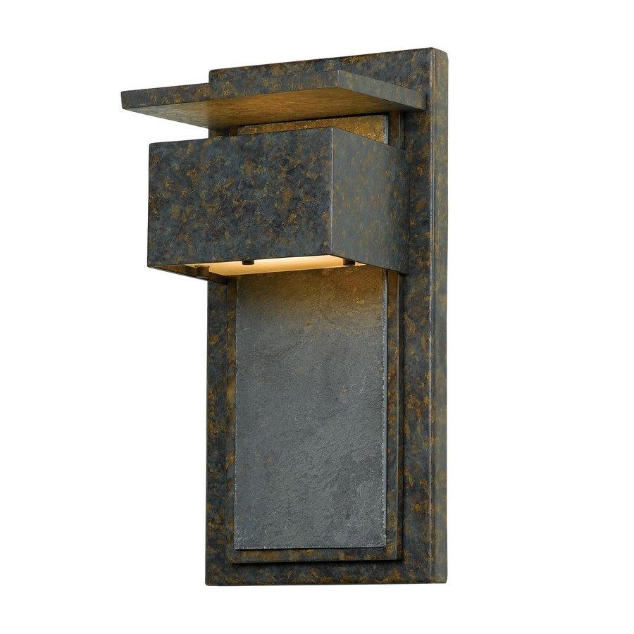 Quoizel Zephyr 14-in H Muted Bronze Dark Sky Outdoor Wall Light