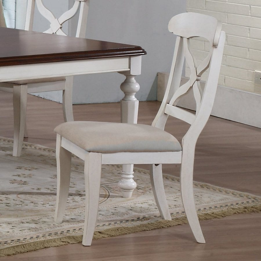 Sunset Trading Set of 2 Andrews Traditional Side Chairs