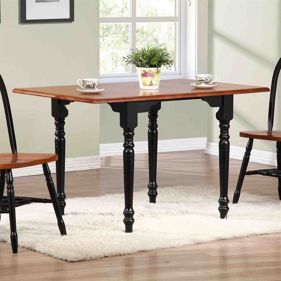 Trading Antique Black Cherry Rectangular Dining Table At