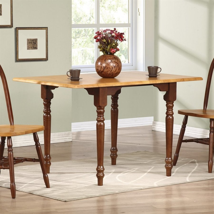 Sunset Trading Wood Extending Dining Table