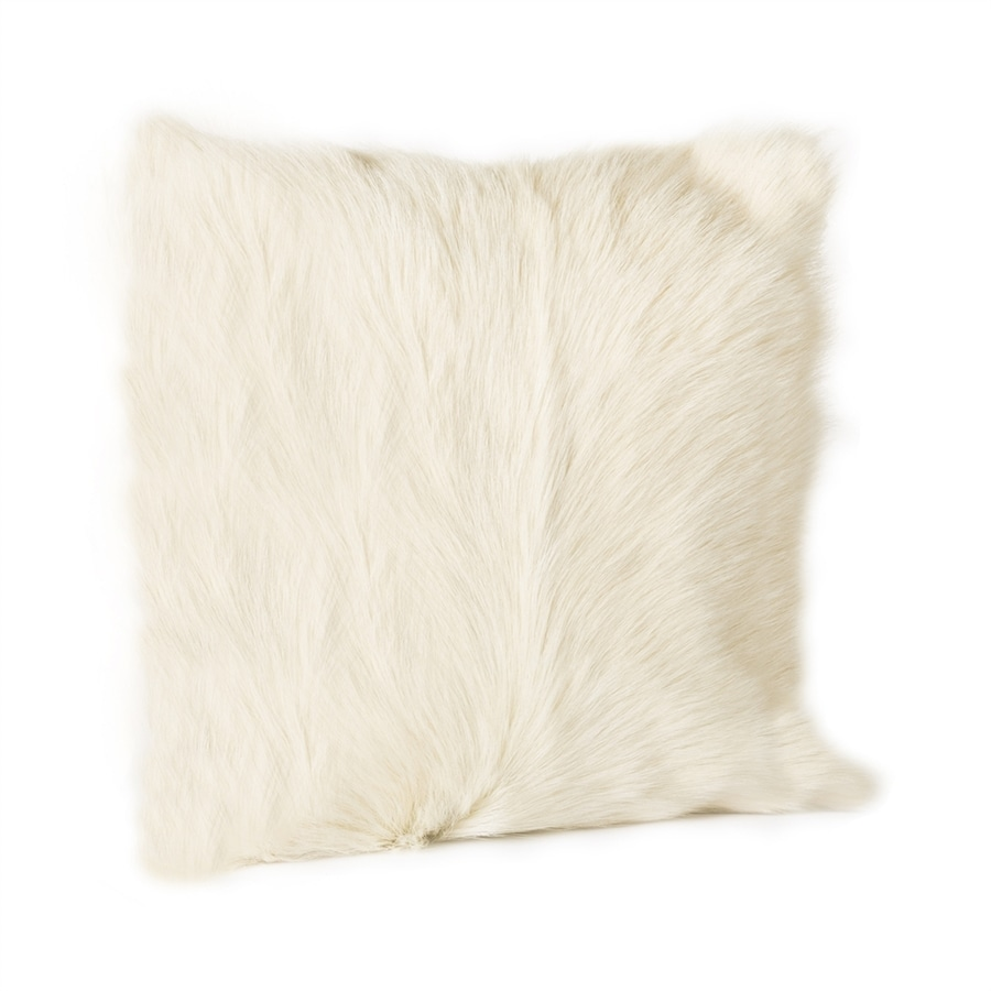 Moe's Home Collection 2-Piece 16-in W x 16-in L Natural Goat Indoor Decorative Pillow