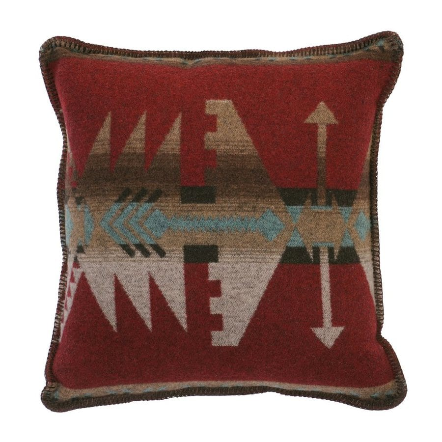 Wooded River Yellowstone II 20-in W x 20-in L Square Indoor Decorative Pillow