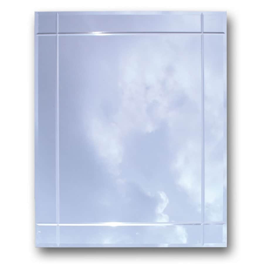 American Pride 16.19-in x 22.25-in Rectangle Recessed Mirrored Medicine Cabinet