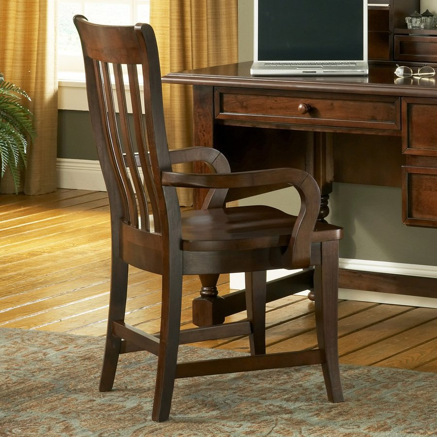 Steve Silver Company Bella Cherry Transitional Bankers Chair