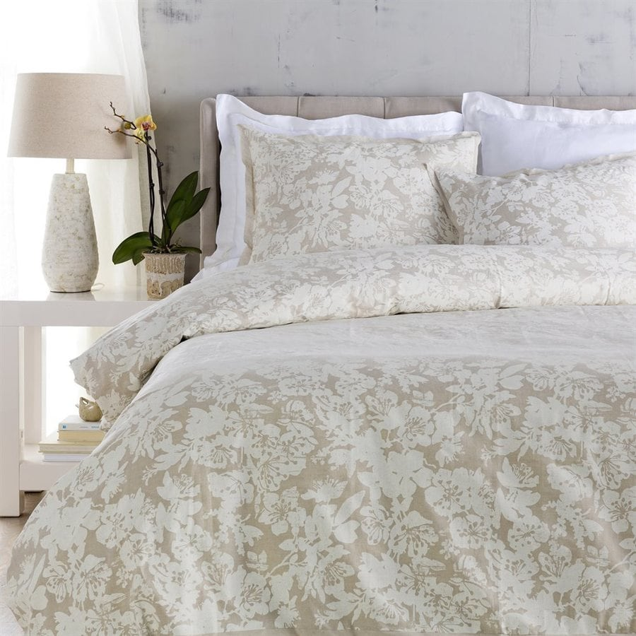 Surya Clara Ivory Full/Queen Duvet Cover