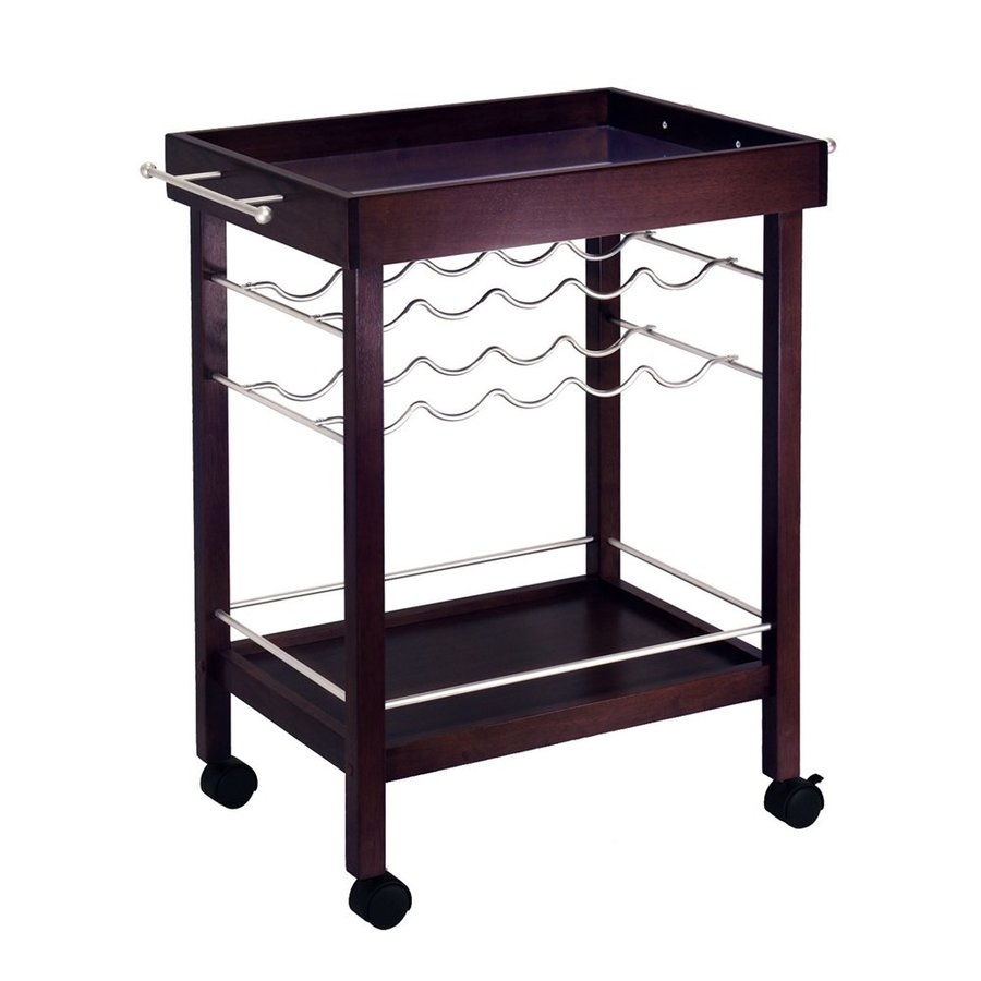 Winsome Wood Brown Modern Kitchen Carts At Lowes.com