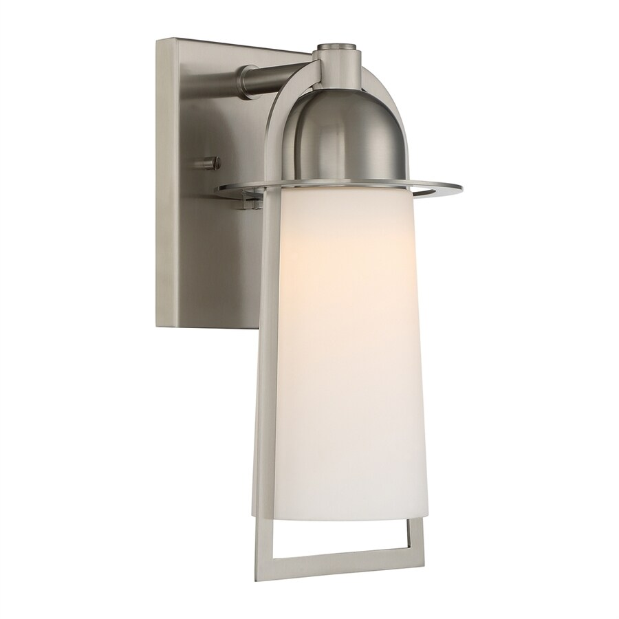 Quoizel Malibu 13-in H Stainless Steel LED Outdoor Wall Light