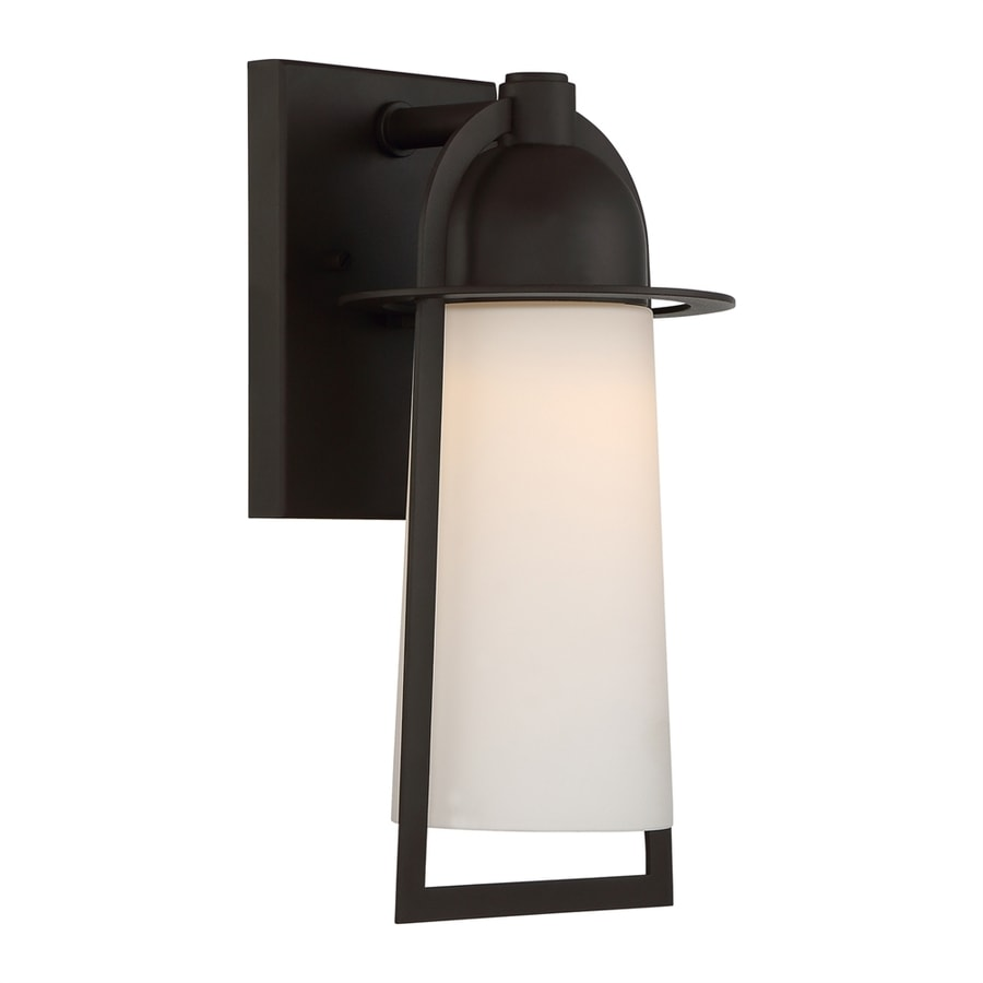 Quoizel Malibu 13-in H Western Bronze LED Outdoor Wall