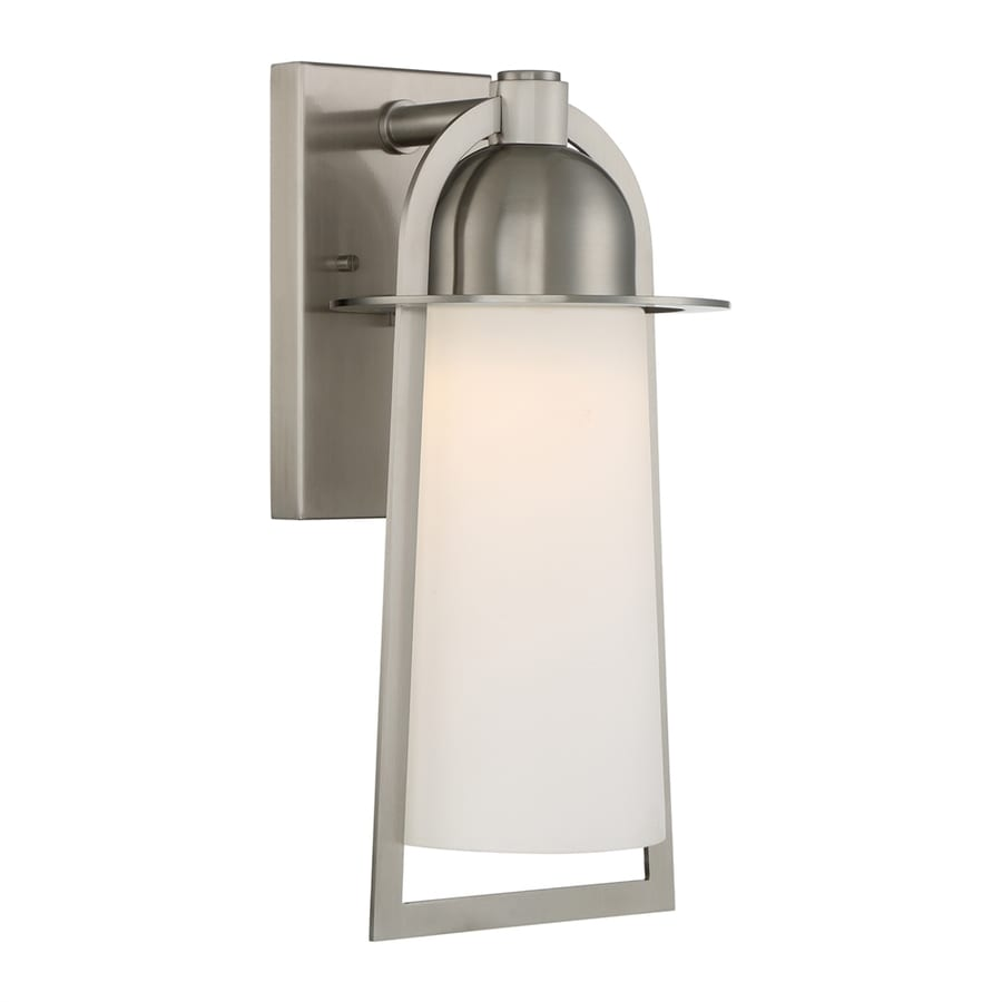 Shop Quoizel Malibu 16-in H Stainless Steel LED Outdoor Wall Light at Lowes.com