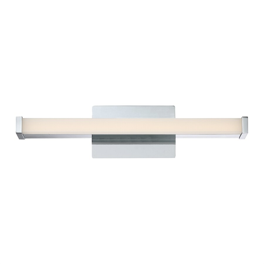 Shop Quoizel Platinum Promenade 1-Light 1.5-in Polished Chrome Rectangle LED Vanity Light Bar at ...