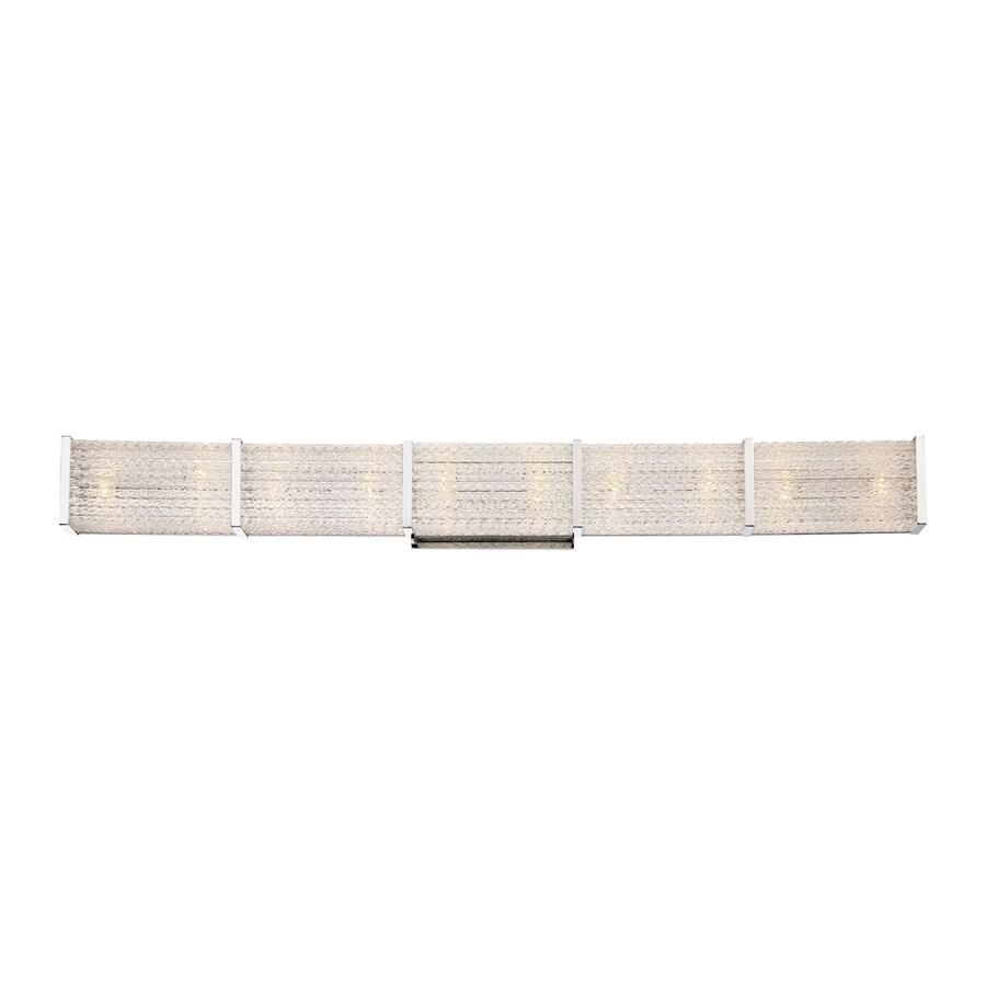 Quoizel Paragon 1-Light 4.75-in Polished Chrome Rectangle Vanity Light Bar