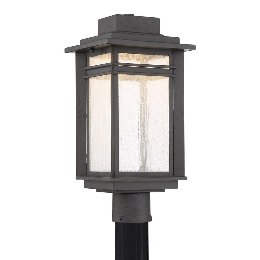 Quoizel Beacon 18.75-in H Stone Black LED Post Light
