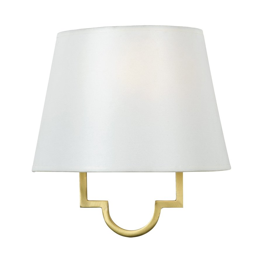 Quoizel Millennium 9-in W 1-Light Gold Pocket Wall Sconce